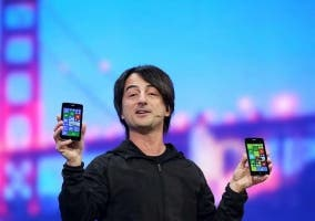 El presidente de Windows Phone usa iPhone