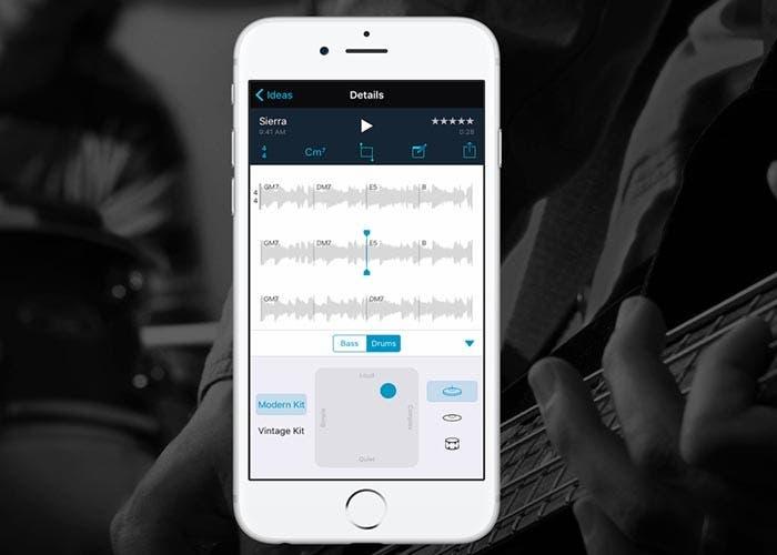 Aplicación de Music Memos