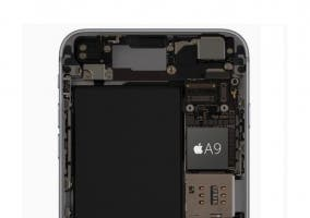 Procesador Apple A9 del iPhone 6s