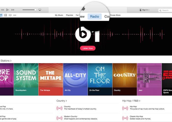 Apple Music en un Mac