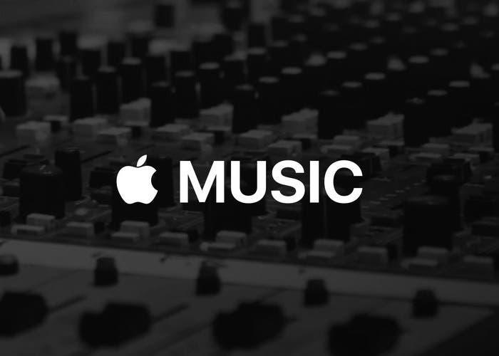 Mesa de mezclas Apple Music