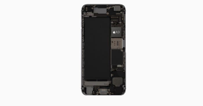 Chip A9 del iPhone 6s