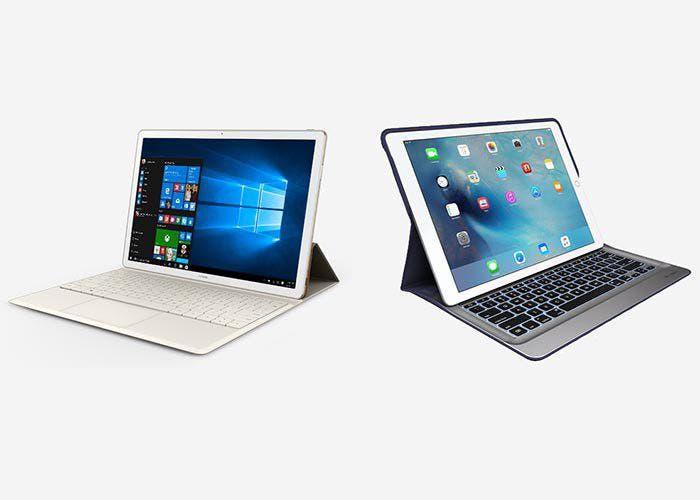Huawei MateBook frente al iPad Pro: comparamos los dos ...
