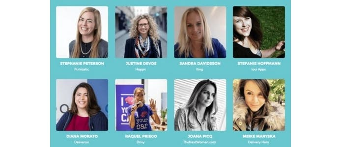Ponentes Women in Mobile 2016