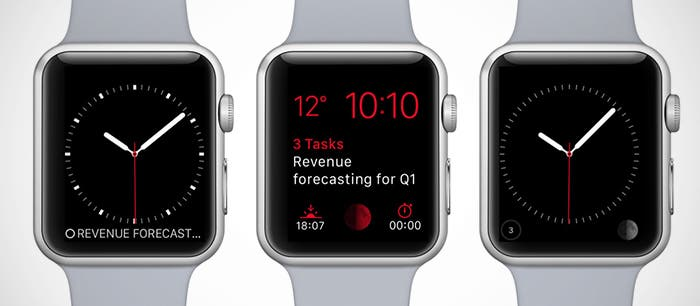 Todoist Apple Watch nativo