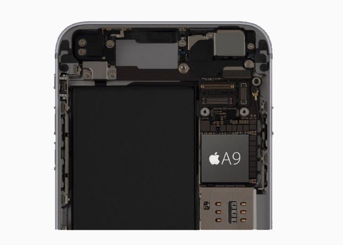 Imagen del chip A9