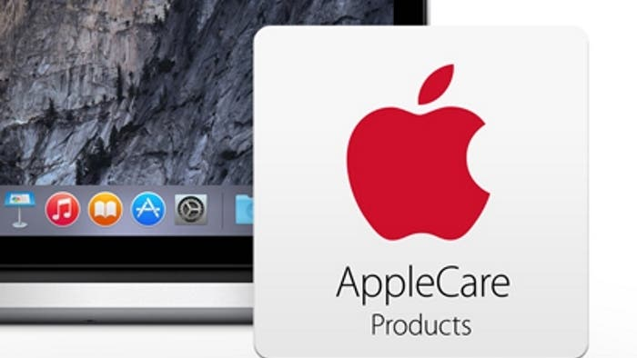 Captura de AppleCare