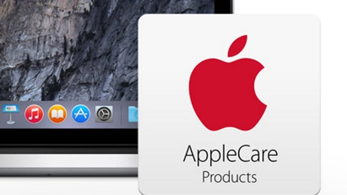 Captura de AppleCare