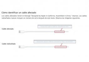 Programa de sustitución de cables USB-C de Apple