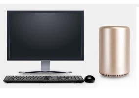 Torre cilíndrica de PC clon del Mac Pro
