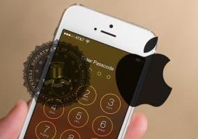 iPhone en la pantalla de bloqueo