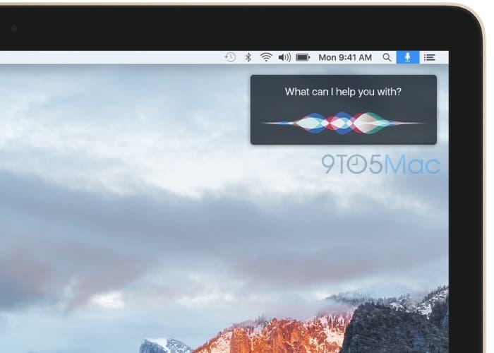 Nueva interface de Siri en Mac