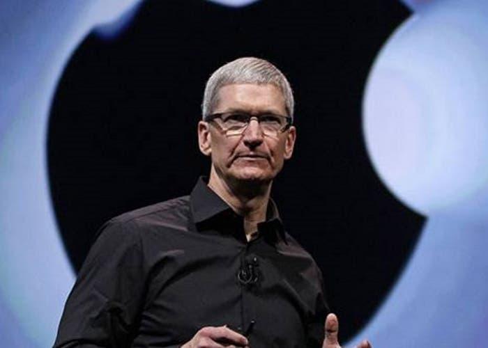 Foto del CEO de Apple