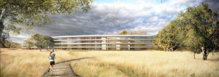Proyecto de los alrededores del Apple campus 2