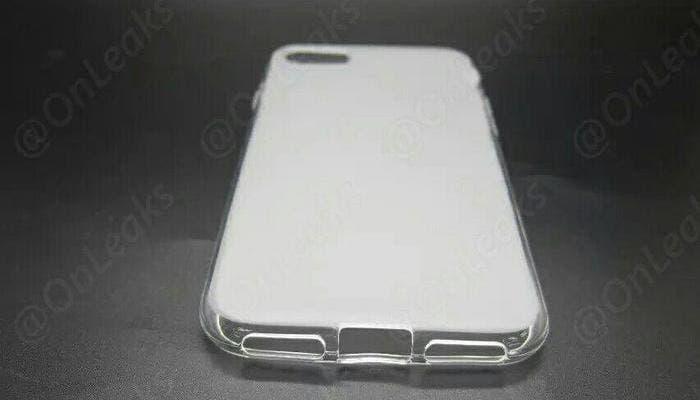 Parte inferior altavoces funda iPhone 7