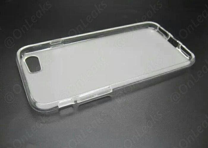 Parte dentro funda iPhone 7