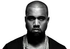Frontal Kanye West B&W