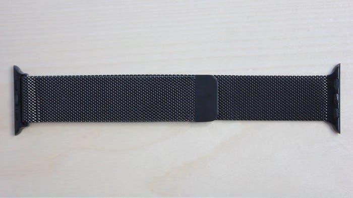 Milanese Loop negra Apple Watch