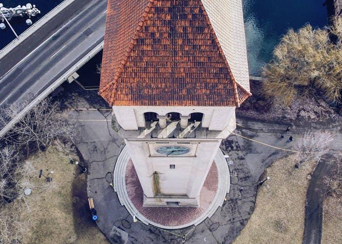 Vieja torre del reloj