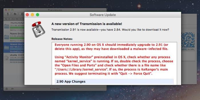 Virus en OS X