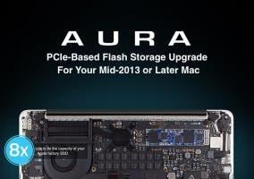Discos PCIe serie Aura de OWC