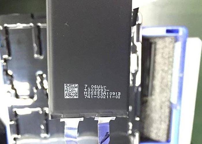 Batería de 7,04 Wh del iPhone 7