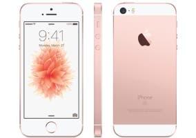iPhone SE oro rosa