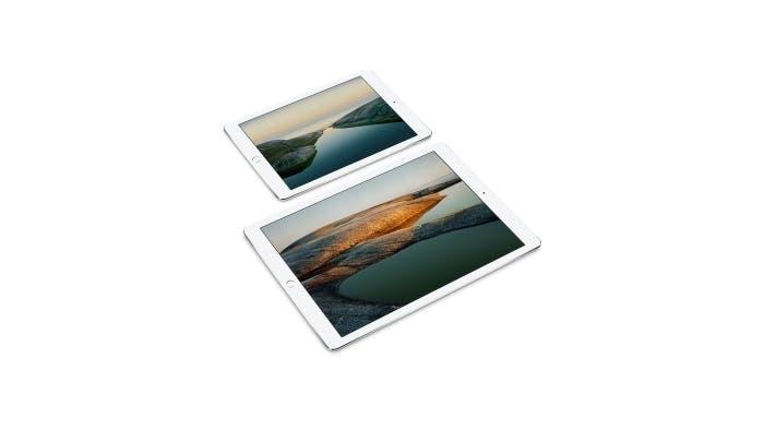 Imagen de los dos iPad Pro