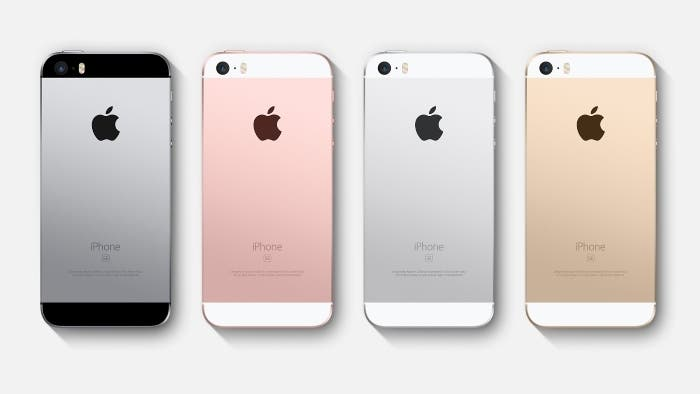 Colores iPhone SE