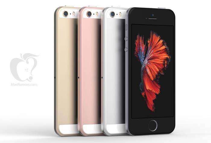 Imagen de los Nuevos conceptos iPhone SE
