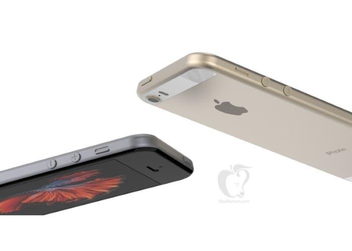 Imagen del nuevo concepto iPhone SE