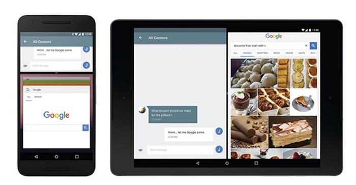 Multi ventana de Android