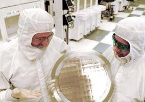 Fábrica de obleas de silicio