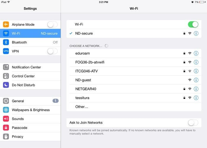 Conectar WiFi iOS