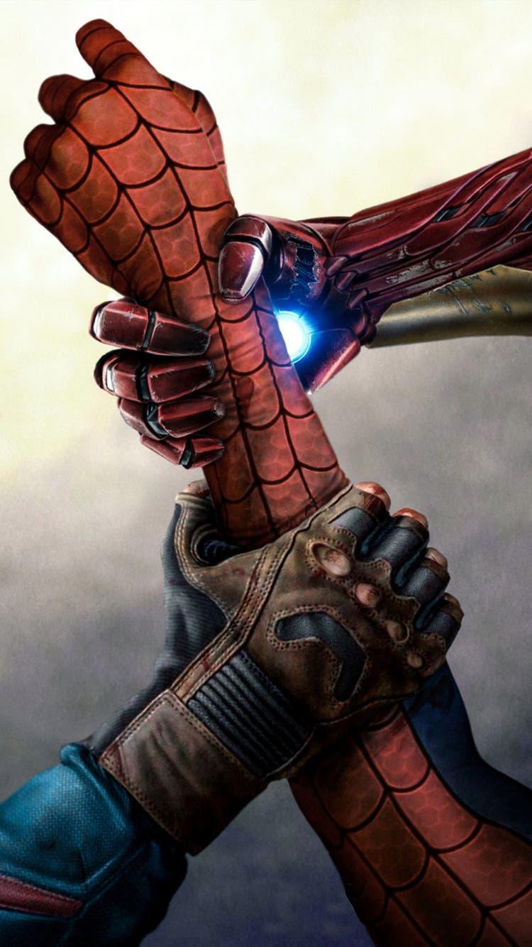 Disfruta ya de los wallpapers de capit n am rica civil war for Fondos de spiderman