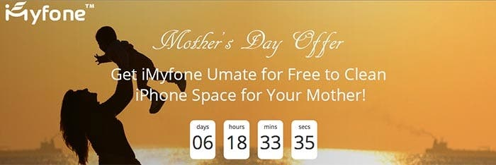 Especial día de la madre de iMyfone Umate