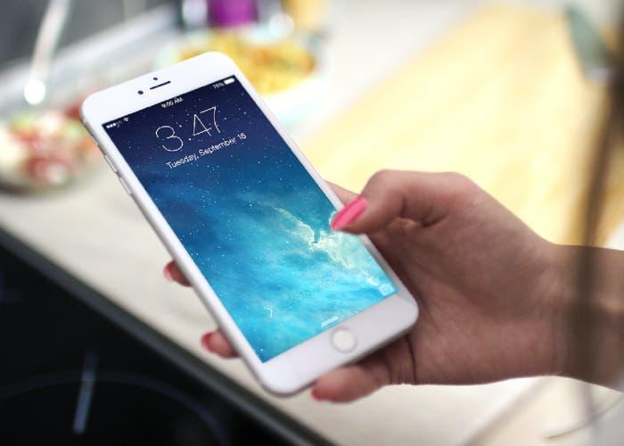Pantalla de bloqueo del iPhone
