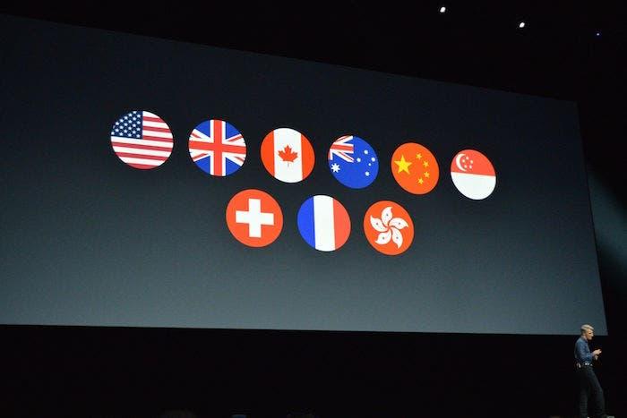 Apple Pay paises