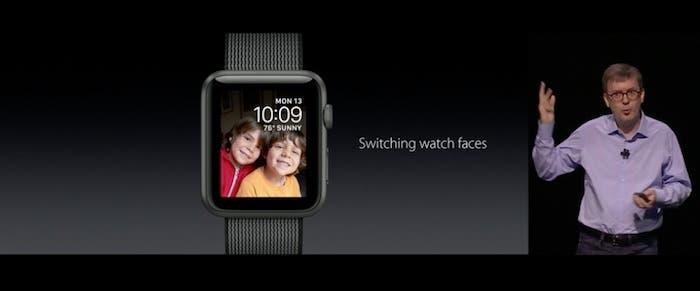 nuevas watchfaces WatchOS 3