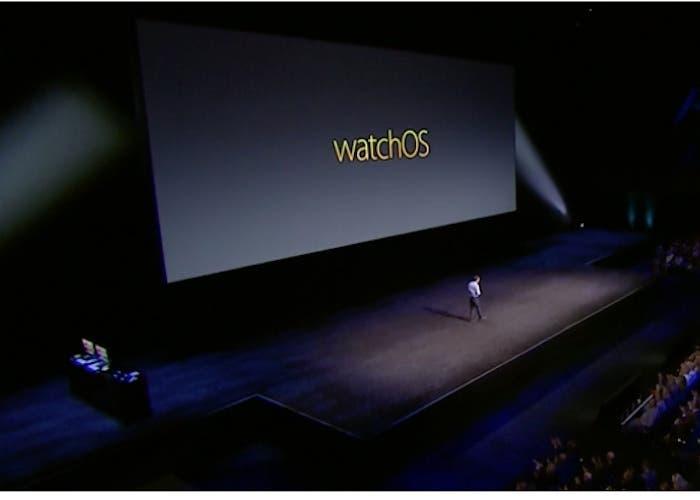 watchOS tres presentacion