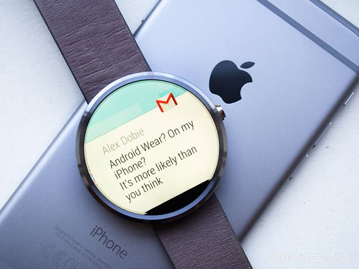 Sincronizar Android Wear con iPhone