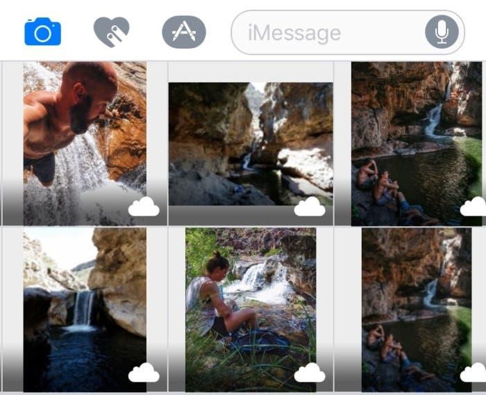 Aplicación Mensajes en la beta 3 de iOS 10