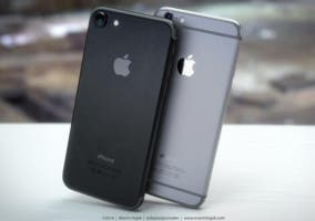 iPhone 6s negro compartir internet