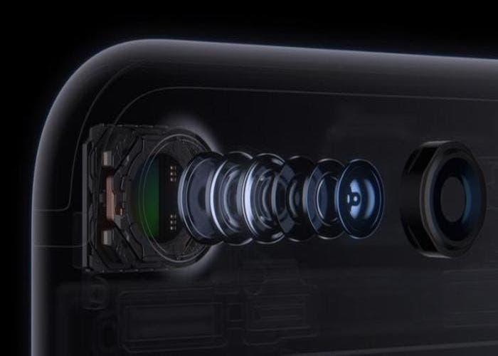 recubrimiento de zafiro en la lente del iPhone 7