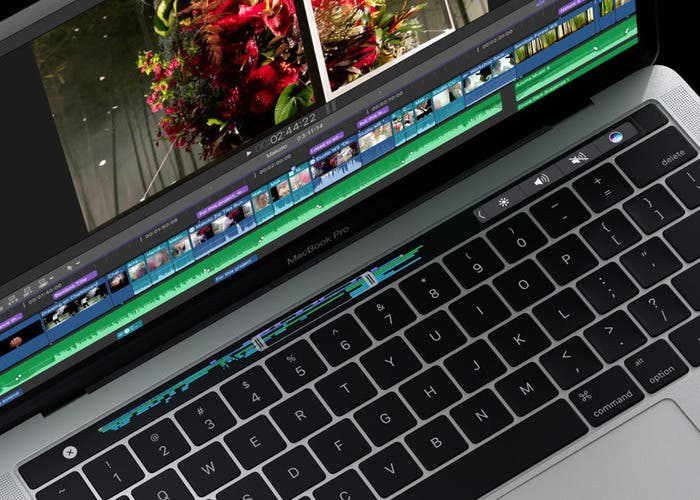 Final cut pro x 10.3 Touch bar