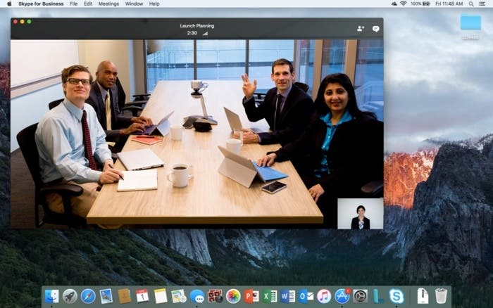 Skype business para Mac