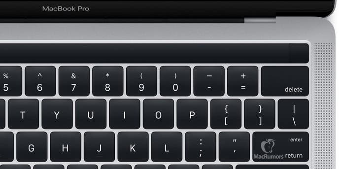 Se filtra la Magic Toolbar de los nuevos MacBook