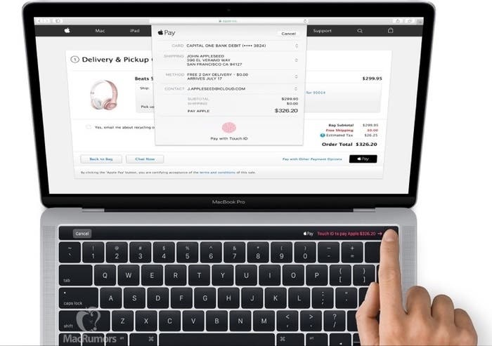 La nueva Magic Toolbar traerá Touch ID