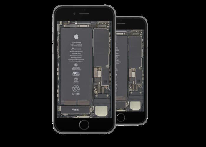 El interior del iphone al alcance de la mano con estos for Interior iphone x