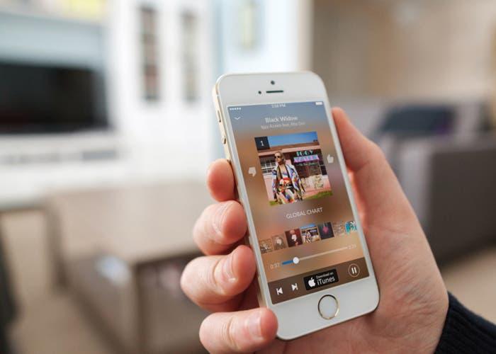Shazam en mensajes de iOS 10